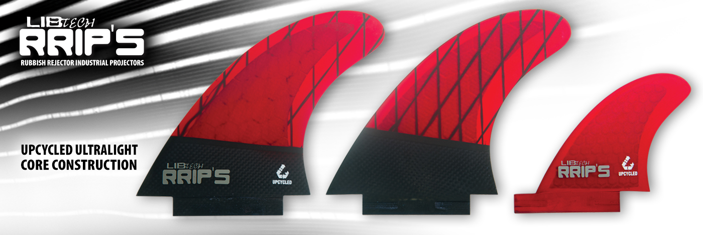 Introducing Lib Tech RRIP'S Fins