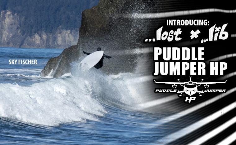 Lost Lib Tech Puddle Jumper HP Surfboard
