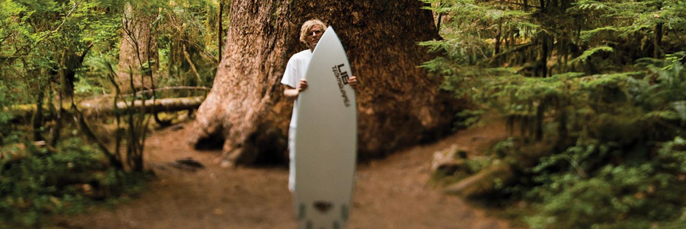 Lib Tech Surf Technology