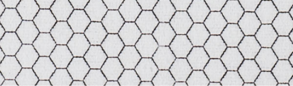 HEXZYLON FIBER FOAM SKIN - which absorbs all vibrations